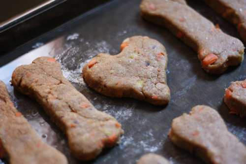 Heart Shaped Dog Cookie